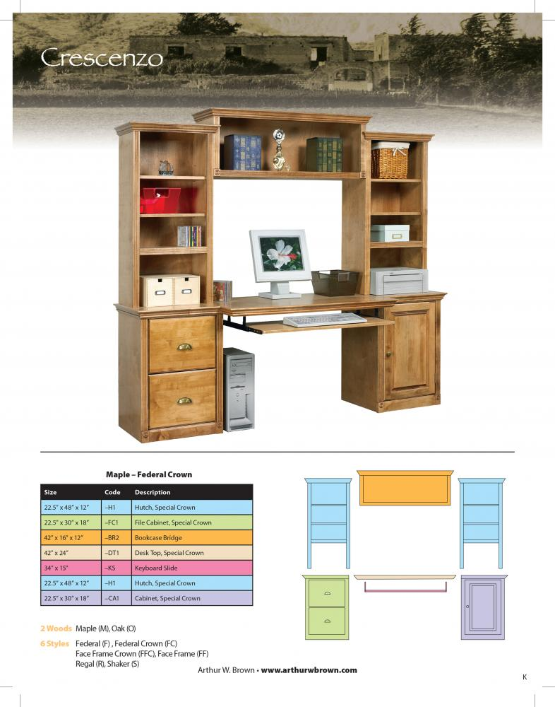 image of Crescenzo Office Wall Unit